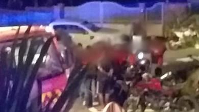 Photo of Grave accident de moto au Morne-Poirier à Trinité