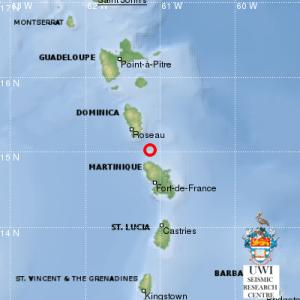 Un séisme de magnitude 4,2 enregistré en Martinique ce jeudi soir