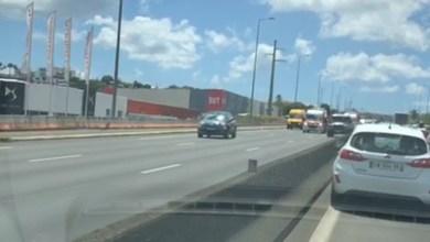 Photo of Un accident sur l'autoroute qui provoque plusieurs kilomètres d'embouteillage