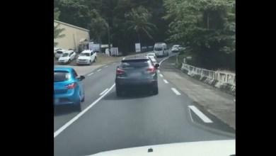 Photo of Comportement déplorable sur la route en début de semaine en Martinique (VIDEO)