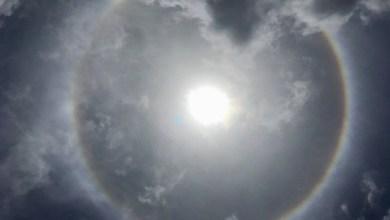 Photo of Un magnifique halo solaire aperçu dans le ciel martiniquais, ce samedi à midi