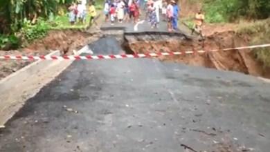 Photo of Une ancienne vidéo datant de mai 2013 montrant l'effondrement d'une route à Grand-Rivière refait surface