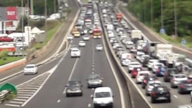 Photo of Un accident sur l'autoroute en direction du Lamentin provoque de gros embouteillages