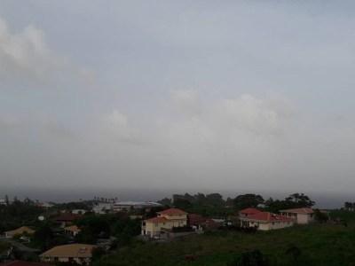 Brume de sable en Martinique