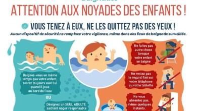 Photo of Attention aux noyades des enfants durant ces grandes vacances