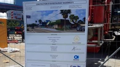 Photo of Bientôt un McDonald's dans la commune de Sainte-Marie. Les travaux sont en cours