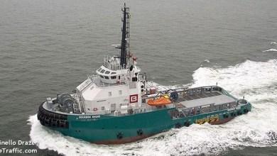Photo of Un navire non-loin de l'ouragan Lorenzo en grande difficulté dans l'atlantique