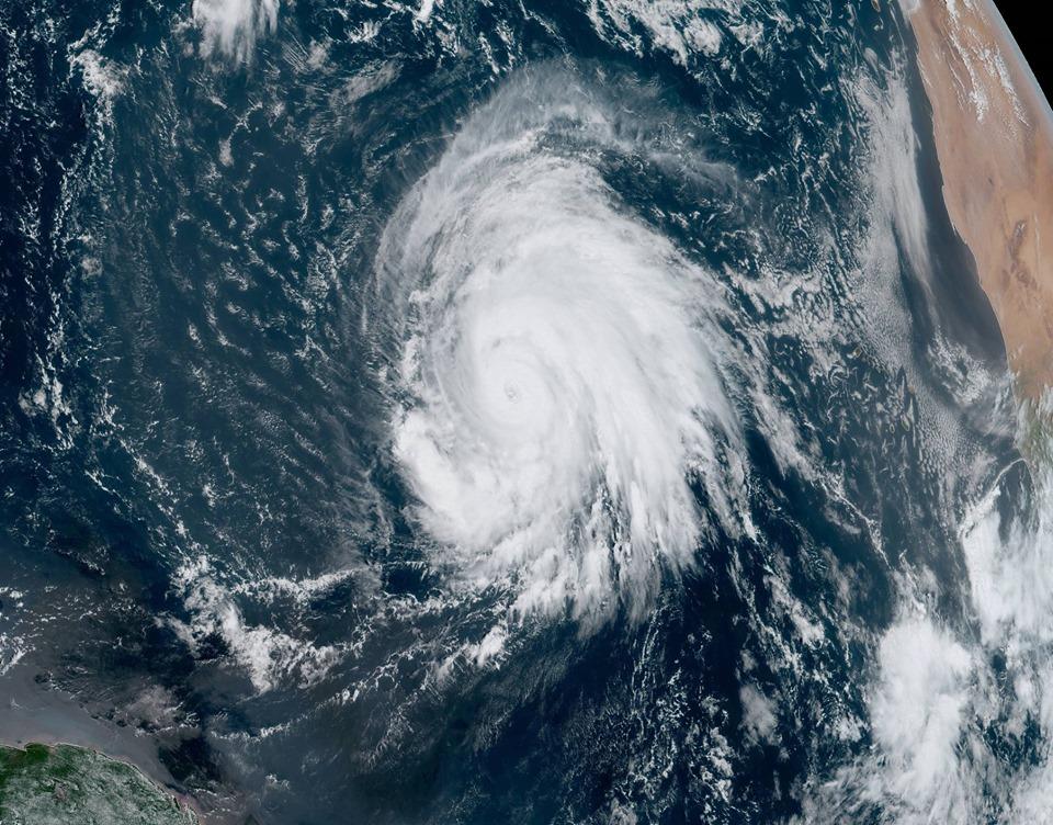 Lorenzo. Le puissant cyclone remonte vers l'ouest de l'Europe