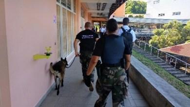 Photo of Des opérations de contrôles réalisées à l'intérieur et aux abords des établissements scolaires