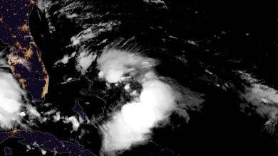 Photo of Naissance de la tempête tropicale Humberto au large des Bahamas
