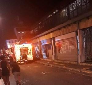 Un incendie dans un restaurant situé au grand marché de Fort-de-France