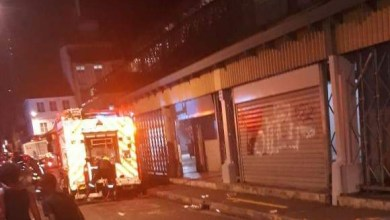 Photo of Un incendie dans un restaurant situé au grand marché de Fort-de-France