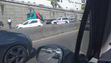 Photo of Un accident sur l'autoroute au niveau du pont de La Galleria provoque d'énormes embouteillages