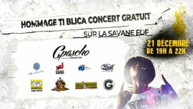 Photo of Un grand concert gratuit en hommage à Ti-Blica sur la Savane de Fort-de-France le 21 décembre