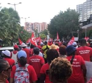 La mobilisation contre la réforme des retraites se poursuit en Martinique