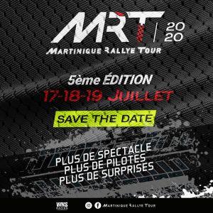 Le Martinique Rallye Tour (MRT) aura lieu les 17-18 et 19 juillet prochain
