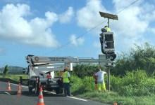 Photo de Non, pas d'installation de radar tourelle à Rivière-Salée, mais d'une caméra de surveillance des cours d'eau