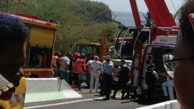 Photo of Accident de camion à Case-Pilote : on dénombre un mort (bilan provisoire)