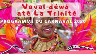 Photo of Découvrez le programme du carnaval 2020 de la ville de Trinité