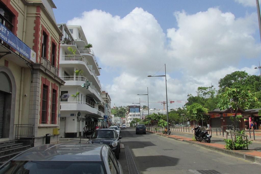 La rue de la Liberté avant les travaux.