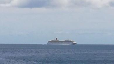 Photo of Le Costa-Magica quitte en ce moment la Martinique en direction de la Guadeloupe