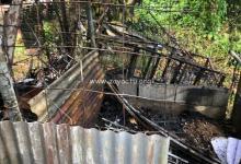 Photo of Intervention des pompiers suite à un incendie provoqué par un feu de cabanon au Marigot