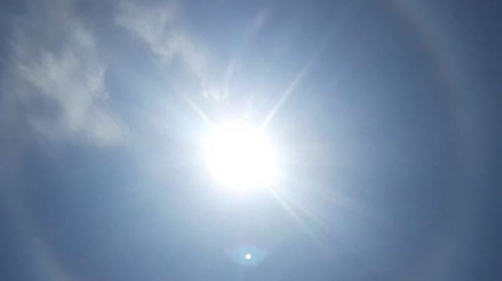 Un halo solaire
