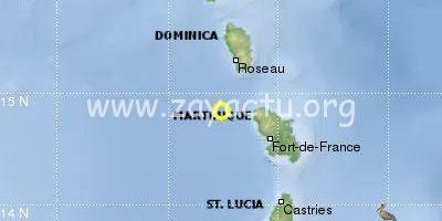 Séisme en Martinique le 17 avril 2020