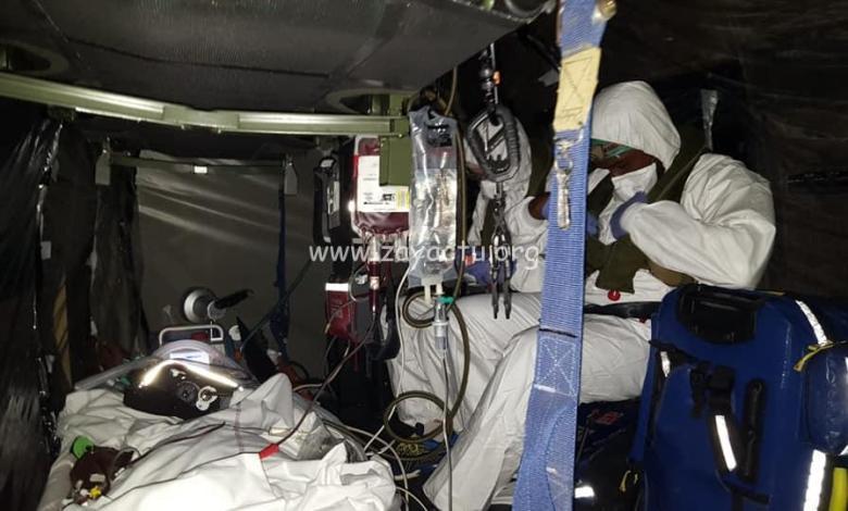 Un patient atteint du covid-19 transféré en Martinique