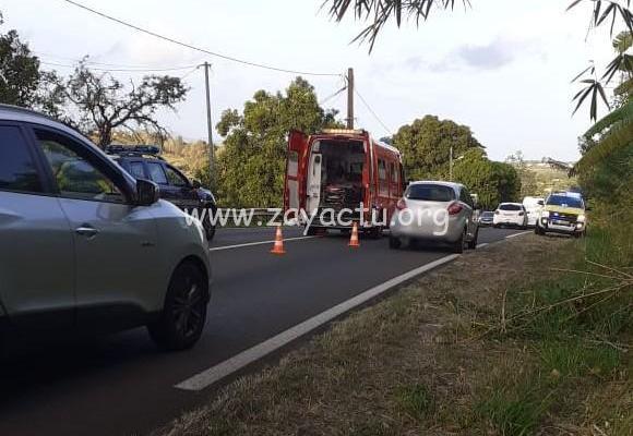 Accident de voiture à Augrain