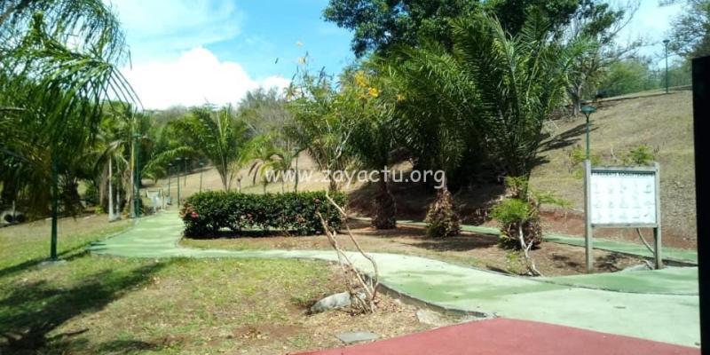 Parcours de santé à Trinité