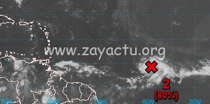 Le stade de dépression tropicale bientôt atteint.