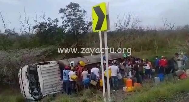 Accident en Colombie, camion citerne