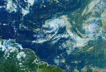 Photo de Les deux tempêtes tropicales Paulette et René ne représentent pas de menace pour l'arc antillais