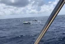 Photo de #OctobreRose : Christophe Maleau parti à 5H, ce samedi matin est à mi-chemin entre Sainte-Lucie et la Martinique
