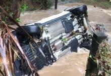 Photo de Fortes pluies et inondations dans certaines communes du sud de la Martinique en raison du passage d'une onde tropicale