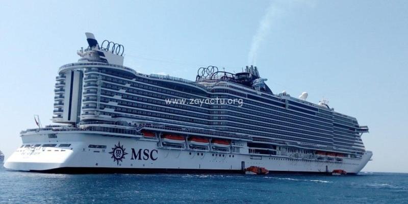 Le MSC Seaview.