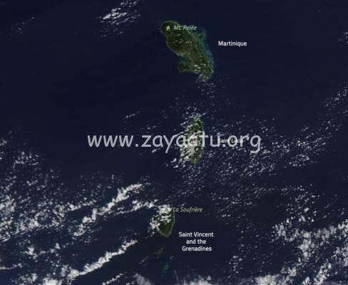 Martinique Nasa Atmosphere