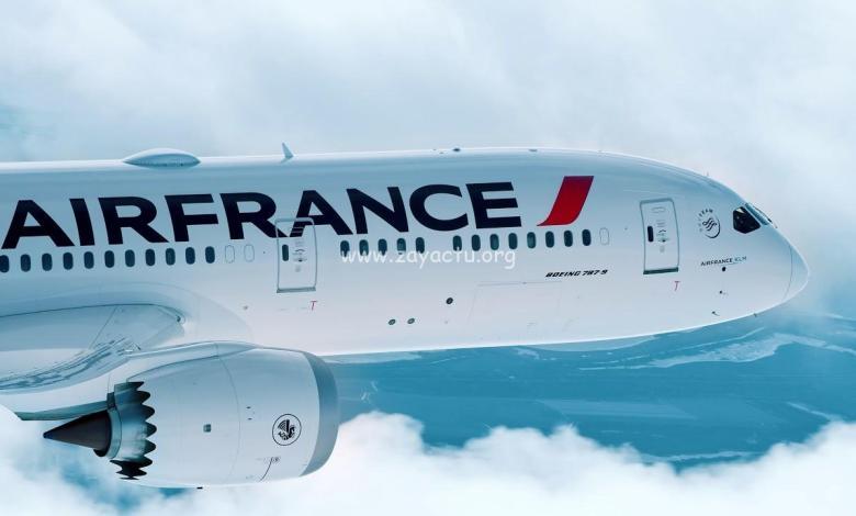 Compagnie aérienne Air France.