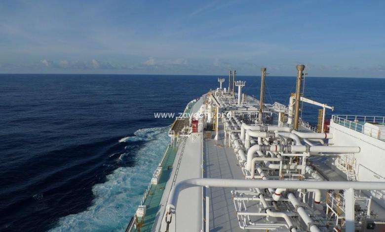 Un navire de commerce dérouté vers Fort-de-France. Photo : réseaux sociaux.