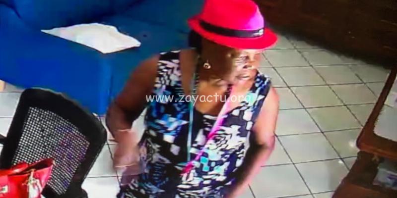 Ivèze Duverger portée disparue. Un appel à témoins lancé. Photo ; gendarmerie de Martinique.