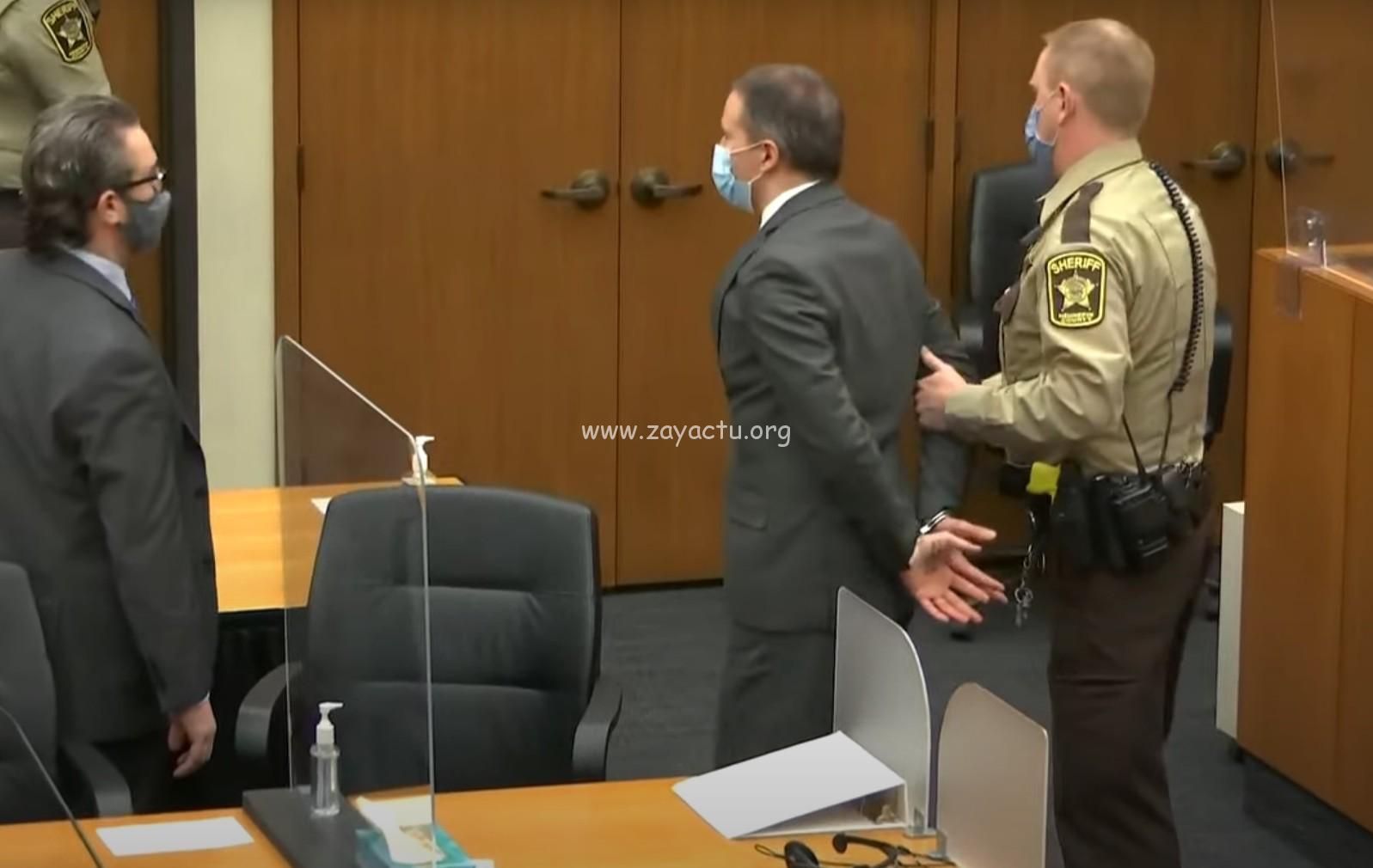 Décès de George Floyd : Derek Chauvin déclaré coupable de tous les chefs d'accusation