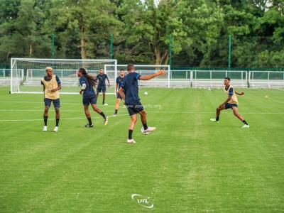 Gold Cup : Les matininos à l'entraînement. Photo : LFM