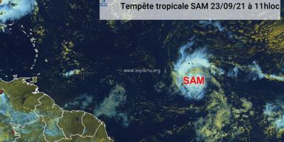 Tempête tropicale SAM
