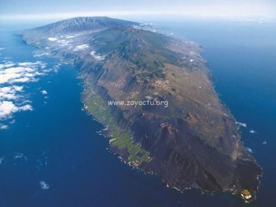 Le volcan Cumbre Vieja dans l'archipel des Canaries.