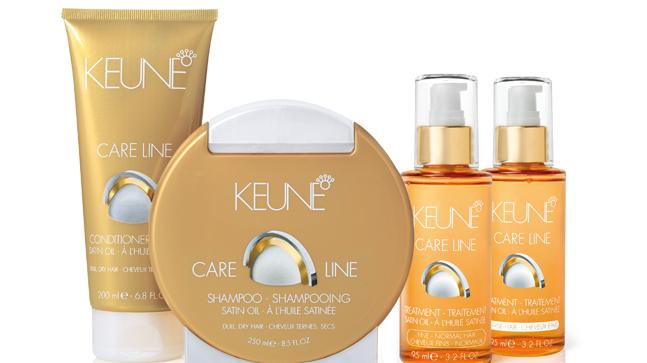 Zacht, glanzend haar met Keune Care Line Satin Oil