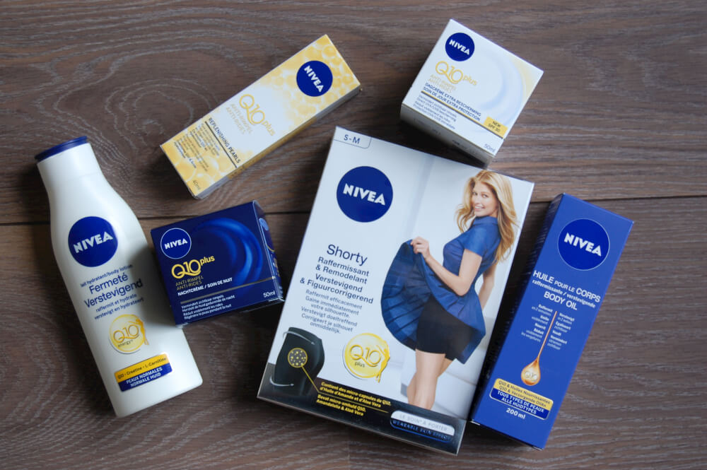 Nivea Q10 Shorty en Verstevigende Body Oil