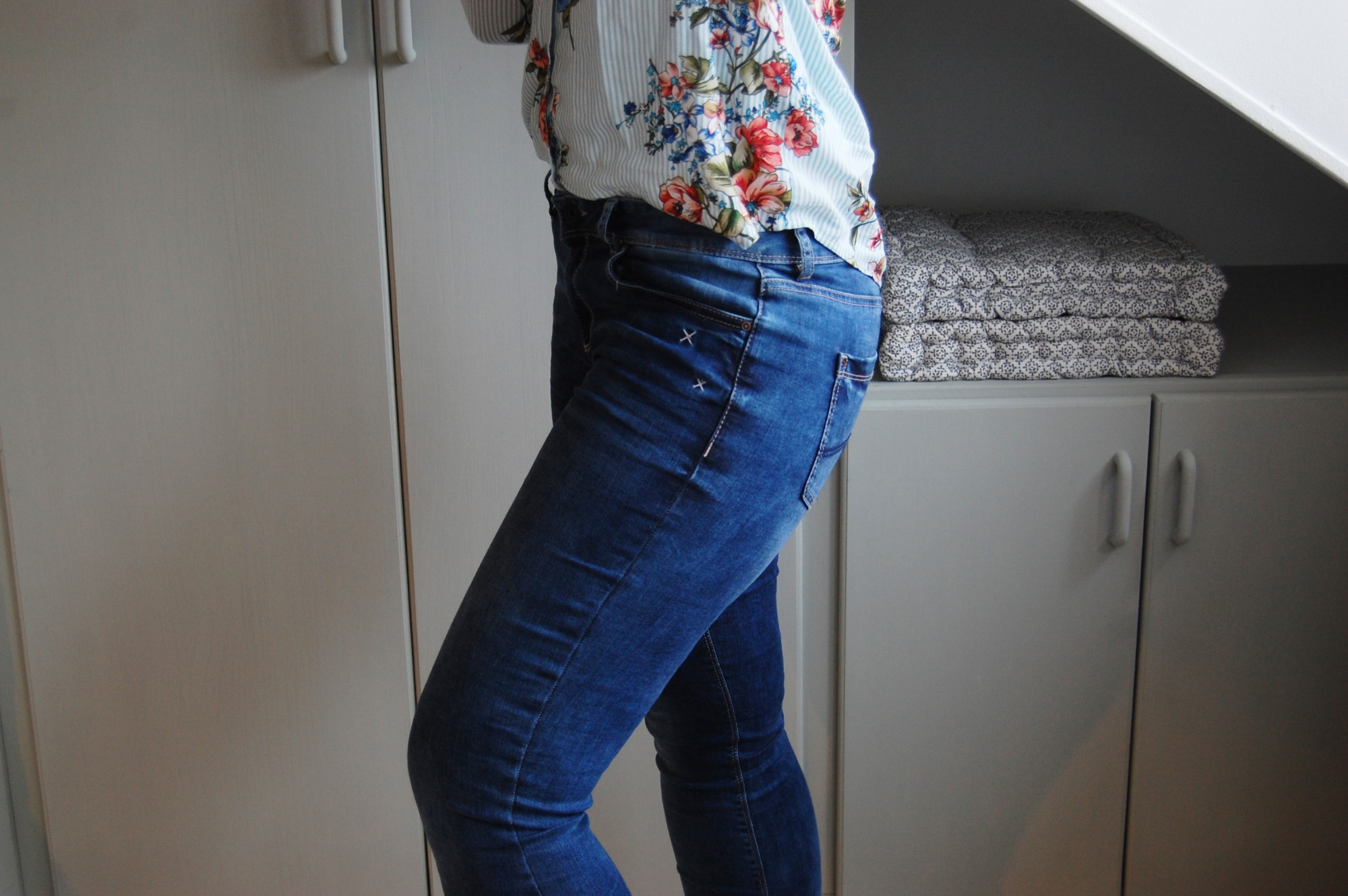 flowers & denim