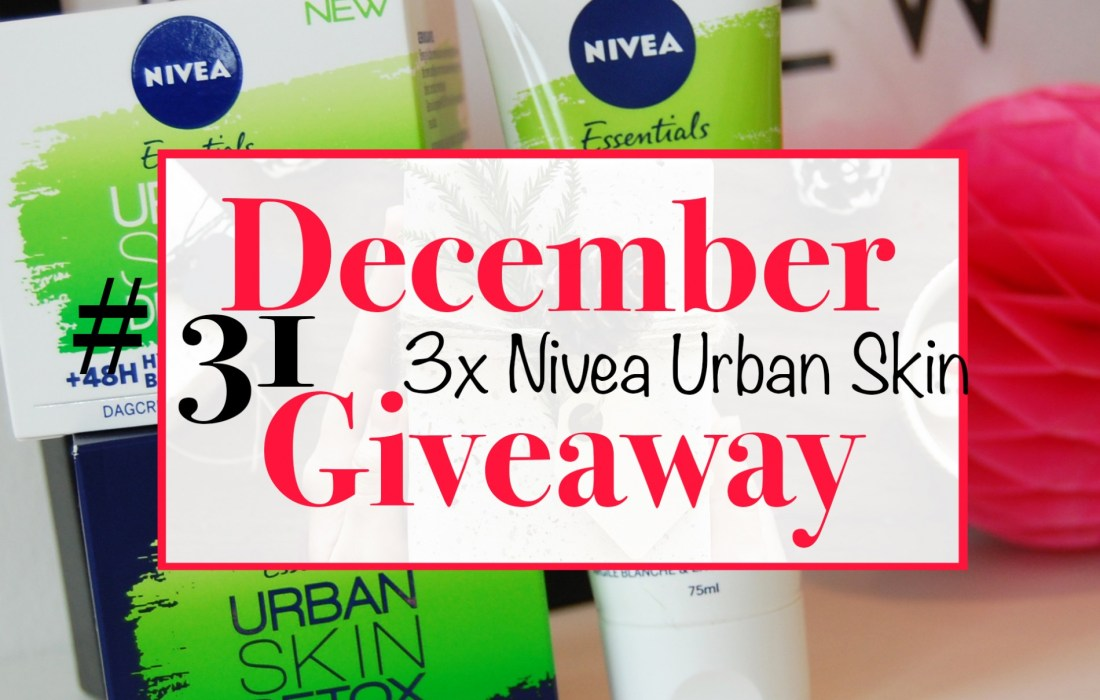 December Giveaway #31: Nivea Urban Skin