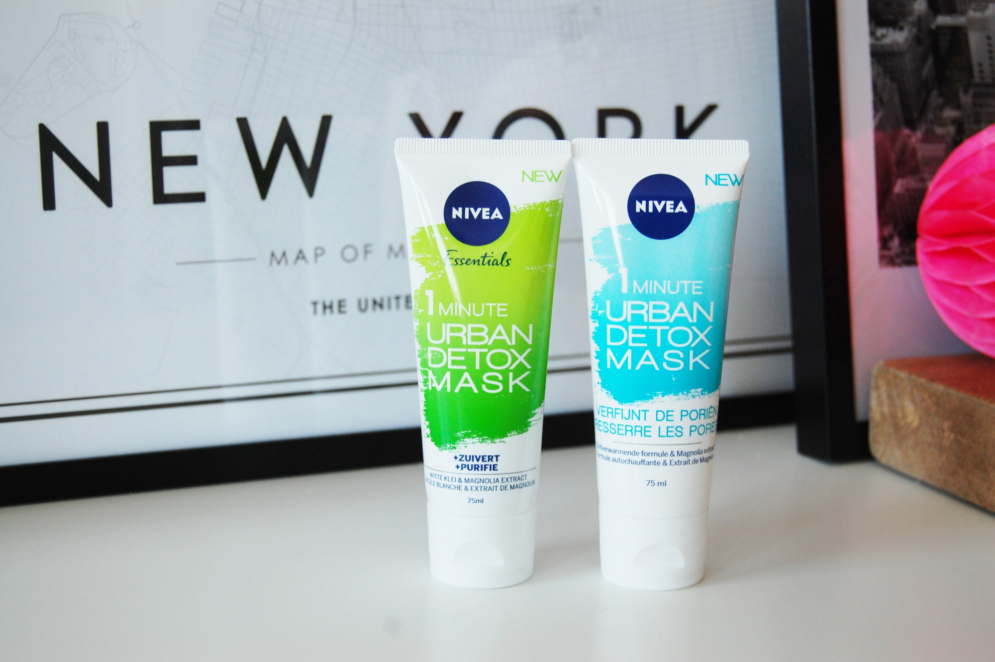 Nivea 1 Minute Urban Detox Mask